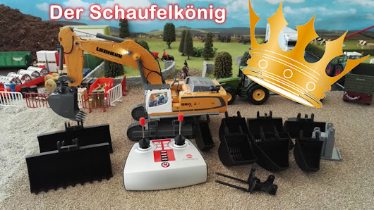 Youtube - Video - Siku Control 32 Bagger - Der Schaufelkönig