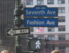 Seventh Avenue is Fashion Avenue