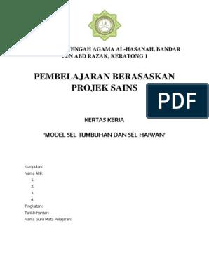 Pbl Sains Tingkatan 1 Malaysijii