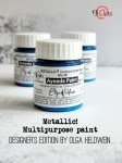 Ayeeda Paint METALLIC! Blue