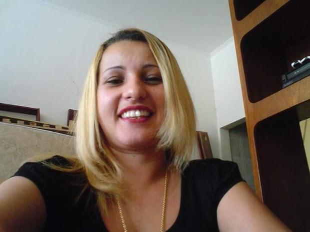 Flavia, mãe de Larissa, foi atingida por nova golpes (Foto: Arquivo Pessoal)