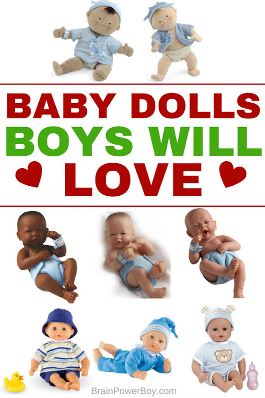 Baby Dolls Boys Are Going to Love! Best Choices for Christmas 2017