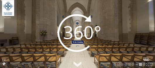 Guildford Cathedral : 360° Panoramic Imagery by Nikhilesh Haval