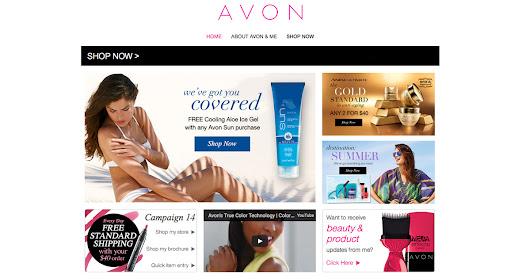 The latest from Avon at my eStore!