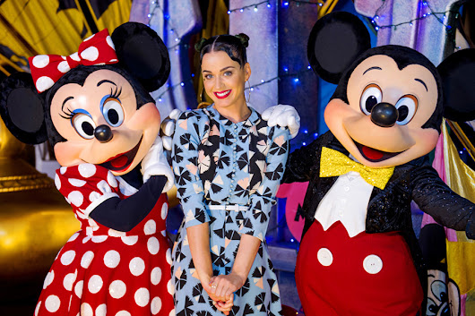 Katy Perry Visits Walt Disney World Resort During Fourth of July Holiday Weekend