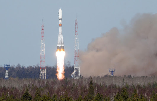 Soyuz carrier rocket with military satellite launched from Russian spaceport