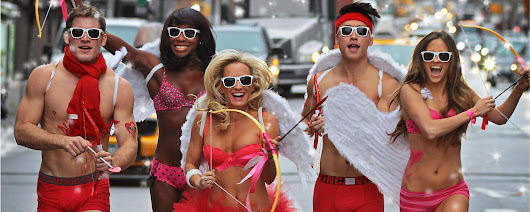 Cupid's Undie Run - San Francisco Pub Crawls, San Francisco New Years Eve and Party Buses