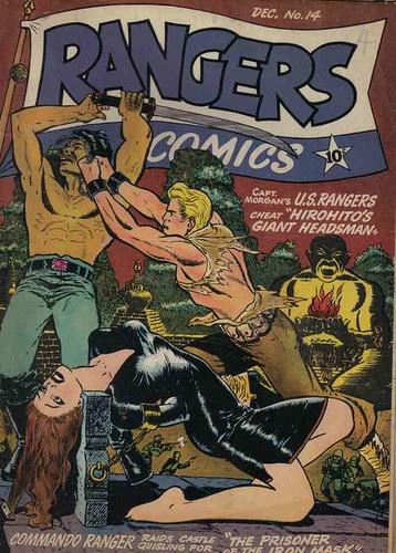 Rangers Comics 14 (Fiction House, 1943)