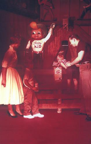Frito Kid at Casa de Fritos 1957