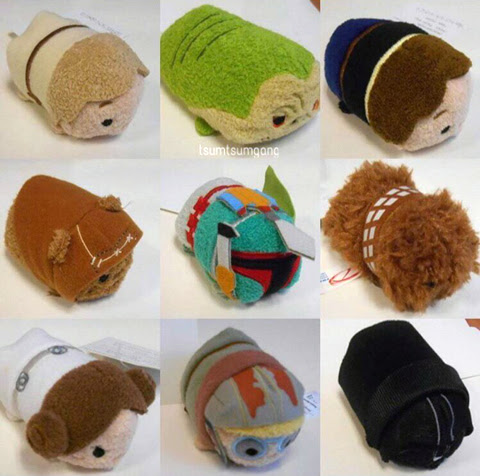 Star Wars Tsum Tsum Release Date & Photos | Anakin And His Angel