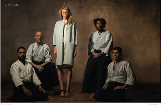Aikido with Erika Pattison by Joseph Chen