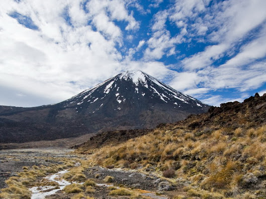 Mount Ngauruhoe (2291 m), North Island, New Zealand