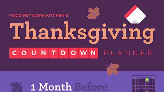 Your Countdown Planner to Thanksgiving Day