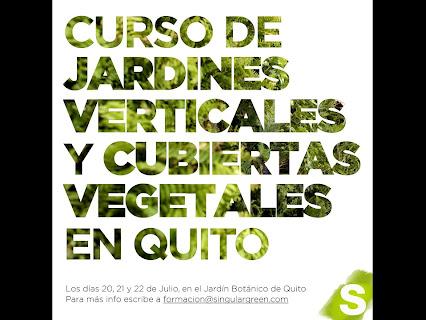 Arte y jardiner a dise o de jardines jardines for Jardines verticales quito ecuador
