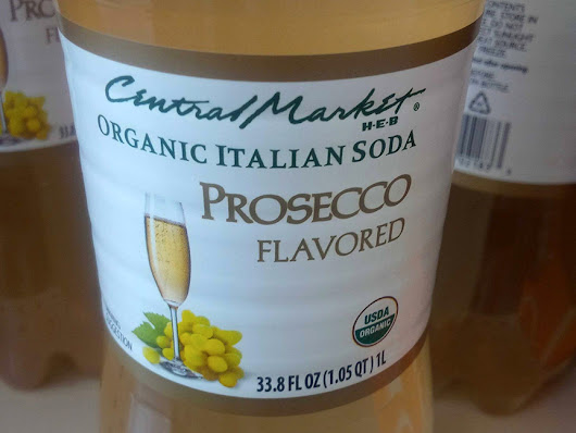 Prosecco-flavored soda? It's gone too far…