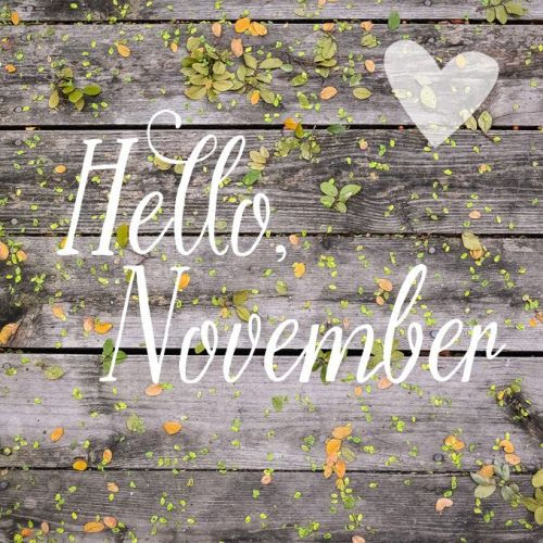 justbelieve2him:  *~ Welcome Sweet November! ~*