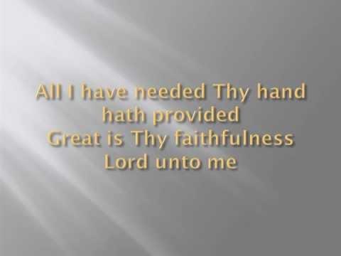 Daniel Choy: Great Is Thy Faithfulness – Thomas and William @ 1923 ...