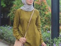 Baju Warna Navy Jilbabnya Warna Apa