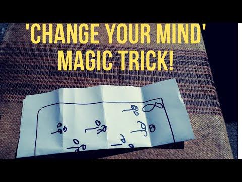 Amazing 'Change Your Mind' Magic Trick - Revealed!