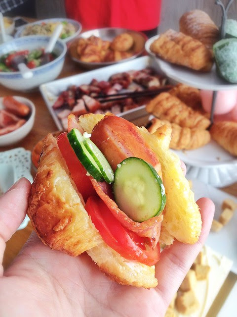 Make Your Own Sandwich Party
