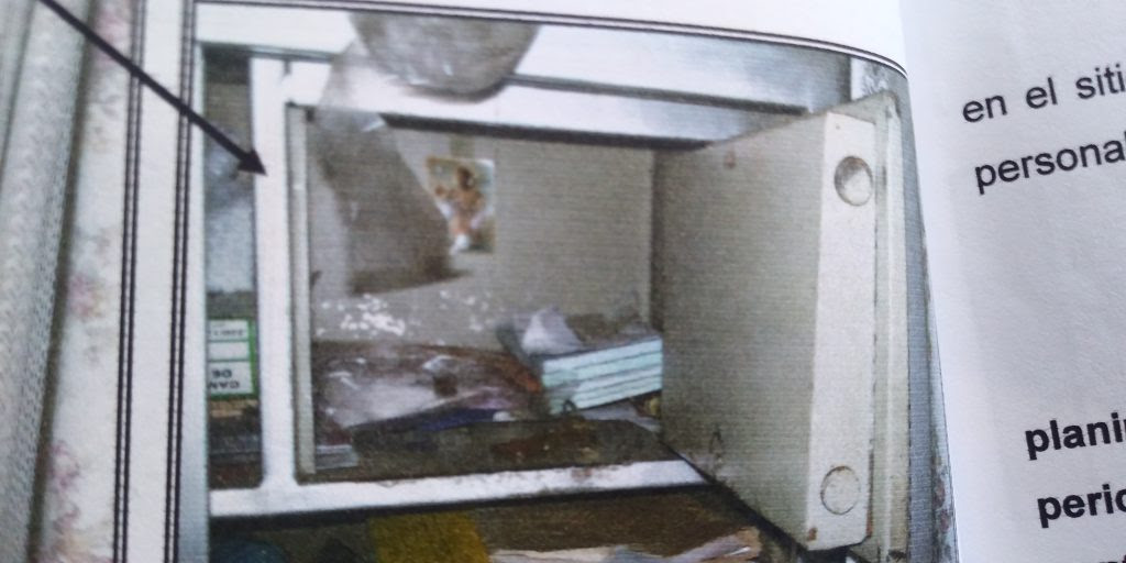 Caja de seguridad de la fábrica de alfajores.