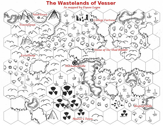 [Friday Map] Instant Wasteland – Just Add Dice!