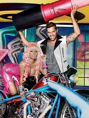 Nicki Minaj and Ricky Martin for M.A.C Viva Glam