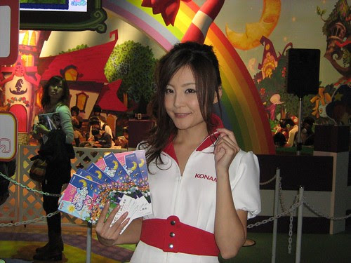 Konami booth babe 3
