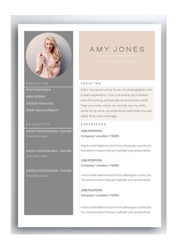 50+ Awesome resume templates 2016