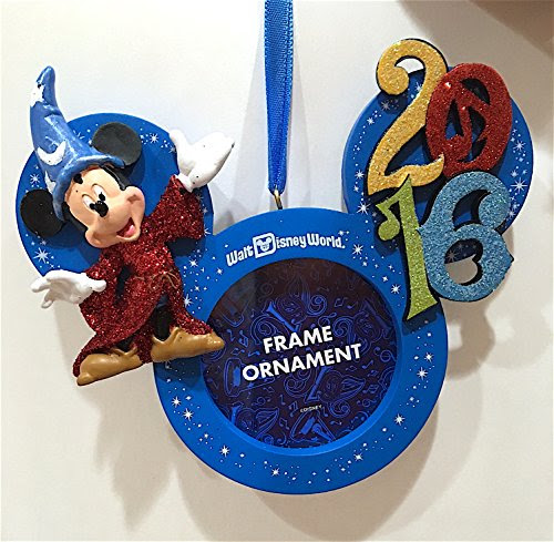 Walt Disney World Parks 2016 Photo Frame Christmas Holiday Import
