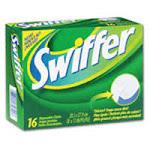 Swiffer Dry Disposable Cloths, Regular - 16 Ea