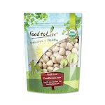Organic Macadamia Nuts, 0.5 Pound - by Food to Live