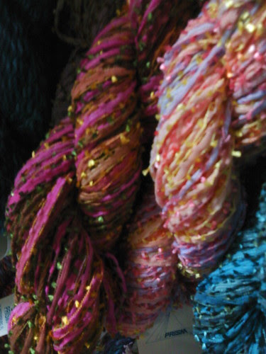 Ithaca: More sparkly yarn