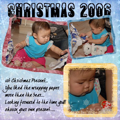 Rachel's First Christmas