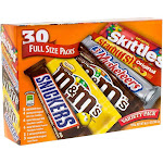 Mars Candy, Variety Pack, Full Size Packs