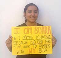 La periodista de Aarefa Johari, cofundadora de Sahiyo