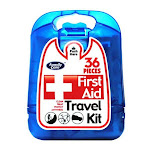 Family Care 80707988848 First Aid Kit, Hard Plastic Case, 36 Piece