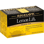 Bigelow Lemon Lift Black Tea - 20 bags, 1.37 oz box