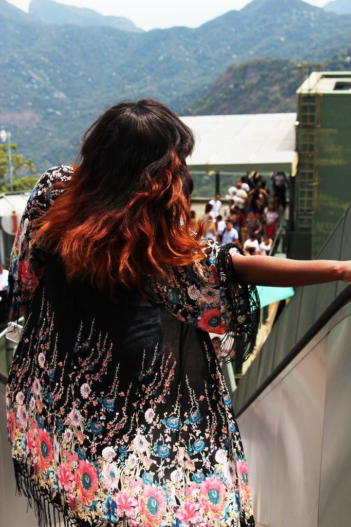 Topshop Kimono, travek outfit, brasil, brazil, rio, kaftan,