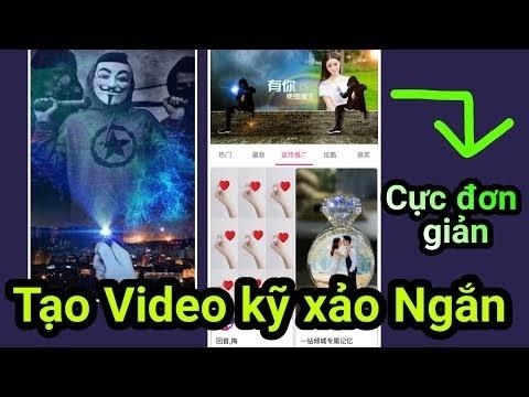 Ứng dụng Tạo video kỹ xảo cực Đơn giản mà chuyên nghiệp cho Android| Vài thao tác đơn giản có ngay 1 Video khoe với bạn bè