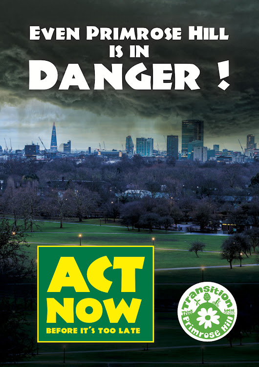 Ceremony for Clean Air 4th January 3pm on top of Primrose Hill