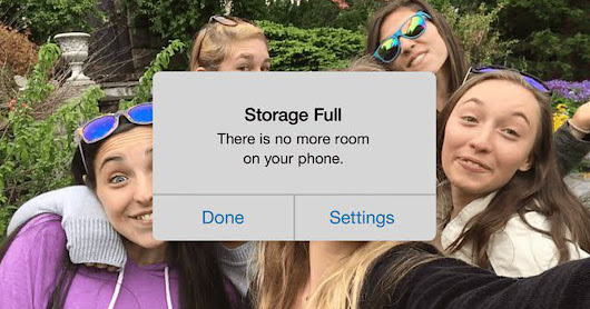 This Google ad understands your iPhone storage struggles