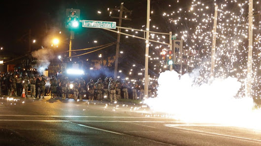 Tear Gas Used as Cops, Protesters Clash Again in Ferguson
