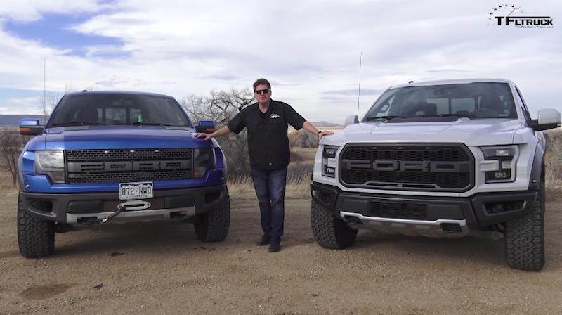 Old vs. New: 2017 Ford Raptor or 2014 Ford SVT Raptor ...