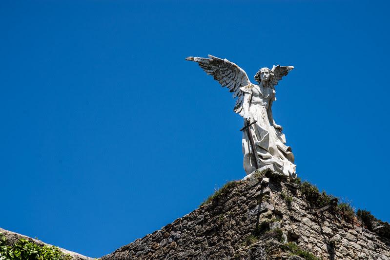 Ángel de cementerio