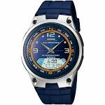 Casio Men's Core AW82-2AV Blue Resin Quartz Sport Watch