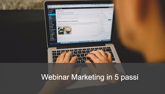 Webinar Marketing in 5 passi - DigitalMarketingLab