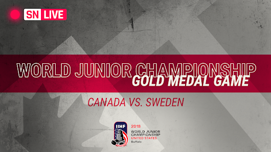World Junior Championship 2018: Live score, updates from Canada vs. Sweden gold medal game | NHL | Sporting News