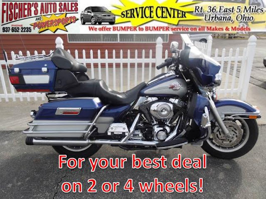 Used 2006 Harley-Davidson FLHTCUI for Sale in Urbana OH 43078 Fischer's Auto Sales & Powersports