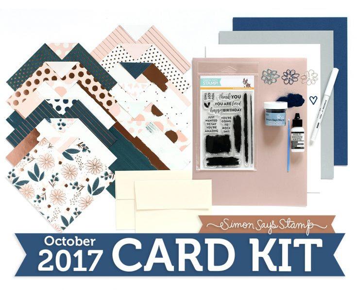 October 2017 Card Kit